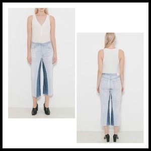 COH NWOT Cora Crop Relaxed Shadow Inseam